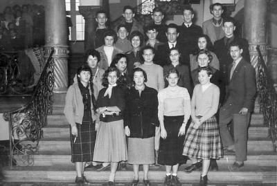 college Turenne de Fribourg en1956