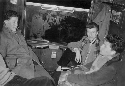 train Donau-Fribourg 1956